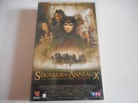 K7 VHS / CASSETTE VIDEO - LE SEIGNEUR DES ANNEAUX / LA COMMUNAUTE DE L'ANNEAU
