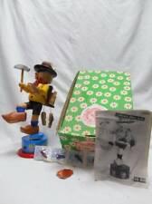 Steinbach Smoker Musical Mechanical Smoker Cobbler Collector story 39 w Box +