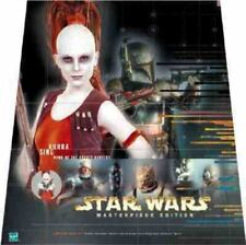 STAR WARS Aurra Sing DAWN OF THE BOUNTY HUNTERS Action Figure Book SET - New