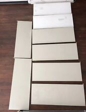 """8 George Nelson CSS All Metal 32"""" Shelf with Side Brackets Herman Miller White"""