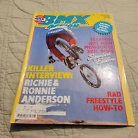 BMX Action Magazine AUGUST 1985 SCHWINN STREETWISE/Redline/Dyno/Skyway/GHP/Haro