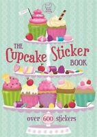 THE CUPCAKE STICKER BOOK __ BRAND NEW __ FREEPOST UK