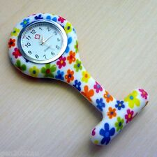 "Nurses Fob Watch Funky New Design Quality Watch Australian Stock ""Paisley"""