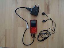 Sony Walkman MP3 NWZ-E383 - Red