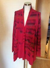 Aldo Martins Cardigan Size 20 BNWT Pink Orange Green Purple RRP £148 Now £45
