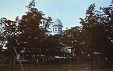 Oak Bluffs Massachusetts 1960s Postcard Martha's Vineyard Campground