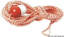 Tow Rope for Inflatables Dinghy  18m Long Red & White with Float TR1