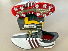 Adidas TOUR360 Boost WD UK 10.5 WIDE White / Black / Red Ex display