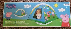 Peppa Pig Kids Outdoor Garden Play Tent Brand NEW