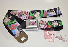 Ouran HS Host Club Anime - Haruhi Tamaki Kyoya Honey Hikaru Kaoru Seatbelt Belt