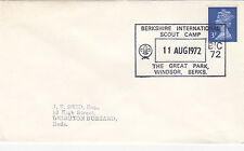 (34044) GB CLEARANCE Cover Scout Camp Windsor 11 August 1972
