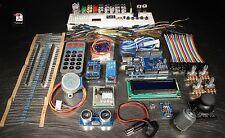 UNO R3 Medium Starter Kit for Arduino Beginner STEM 1602 LCD Motor Relay US