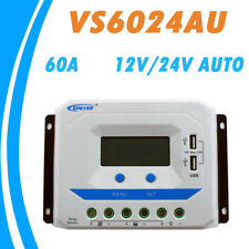 60A Charge Controller PWM Solar Panel Battery Regulator 12v / 24v RV 60amp USB