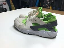 Nike Air Huarache Run 318429-304 Action Green Phantom White  Men's Size 13