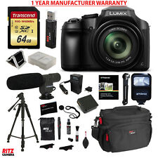 Panasonic FZ80 Lumix Camera, 64GB Memory Card Kit