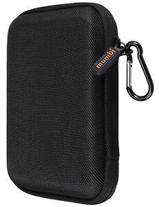 mumbi externe Festplattentasche 2,5 Zoll Tasche für Festplatten schwarz