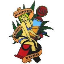 GRASS GAS ASS HAT OR JACKET PIN pin609 new jacket lapel metal marijuana gasoline