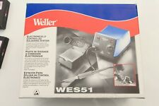 Weller WES51 Electronically Controlled Analog Soldering Station 50W 120V