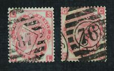 CKStamps: Great Britain Stamps Scott#49 Victoria Used P#7 P#9 1 Short Perf