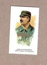 Jas H Fogarty Philadelphia Allen & Ginter Reprint baseball card