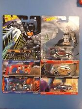 2017 Hot Wheels Pop Culture DC Comics Superman And Batman Complete Set of 6