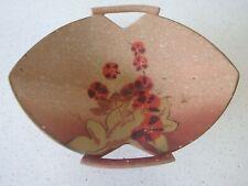 Vintage English Art Deco Era Ware Pottery Dish original c1930s Vgc 26cm Rare