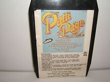 8 track  tape. PATTI PAGE-THE PATTI PAGE COLLECTION . TESTED