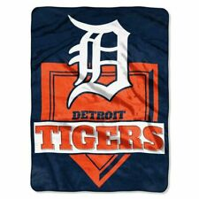 "Detroit Tigers Home Plate 60"" x 80"" Royal Plush Blanket by Northwest"