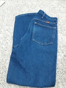 New w/o tag Rustler by Wrangler Men's Regular Fit Straight-Leg Jeans 34 x 32
