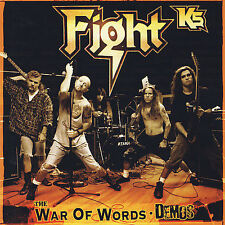 The War Of Words: Demos- Fight- Brand New CD -Fast Ship-  CD/FR7-2/6