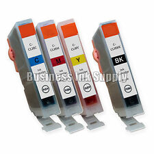 4 New Ink Cartridges For Canon CLI8 CLI-8 Pixma MP830