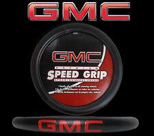 GMC Premium Speed Grip Black Steering Wheel Cover