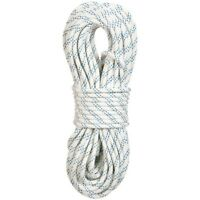 "New England Ropes KM III 7/16"" X 200' White Static Climbing Rope"