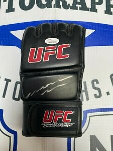 """Anderson """"The Spider"""" Silva Signed Autographed UFC MMA Glove JSA COA Black/Red"""