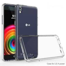 Soft Clear Gel Silicone Case Cover Pour LG X Power K220 K220DS K450 LS755 US610