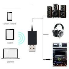 Mini 3.5mm Bluetooth4.1 Bullet Car Aux Music Receiver Audio Adapter Mic Wireless