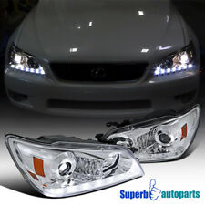 For 2001-2005 Lexus IS300 Projector Headlights w/LED Signal Strip