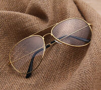 Oversize Avaitor Eyeglass frames Vintage Retro Eyewear Glasses Women Men Pilot