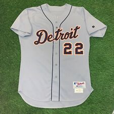 Kirk Gibson Detroit Tigers Team Issued Jersey Used Worn 2004