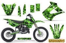Kawasaki KX85 KX100 2001-2013 Graphics Kit CREATORX Decals INFERNO G