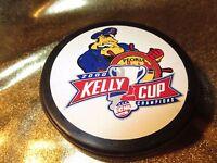 Peoria Rivermen 2000 Kelly Cup ECHL Champions Hockey Puck