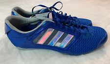 Men's Adidas Adistar ST Track Spikes Size 15 Steeplechase Shoes Blue 115514 New