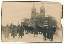 Foto - Deutsche Soldaten in Polen Krasnystaw Kirche - 1.WK