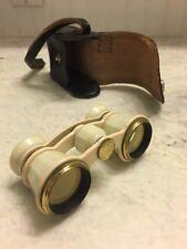 Vintage Russian USSR Theatre Opera Binoculars in Case