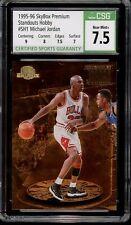 1995/96 Skybox Premium Standouts Hobby Michael Jordan #SH1 CSG 7.5