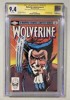 Wolverine #1 | CGC 9.4 | Signed By Chris Claremont & Frank Miller | Marvel, 1982