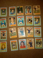 Leicester City 1970's  Old football cards x 20