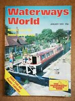 Magazine - Waterways World Canals Narrowboats Full Contents Index Shown Various