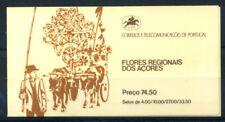 Azores 1982 Mi. MH 2 Carnet 100% ** Fleurs