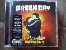 Green day - 21st Century Breakdown CD.Disc Is In VGC.